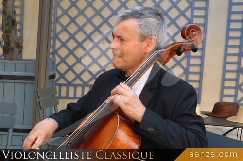 Violoncelliste Classique | RueduSpectacle.com