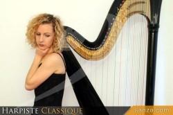 Harpiste Classique | RueduSpectacle.com
