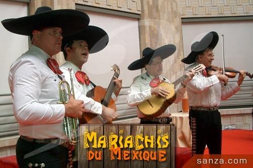 Mariachis Mexicains   RueduSpectacle.com