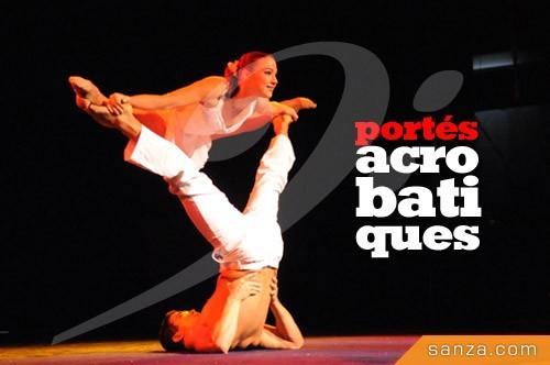 Portés Acrobatiques | RueduSpectacle.com