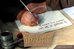 Calligraphe Médiéval   RueduSpectacle.com