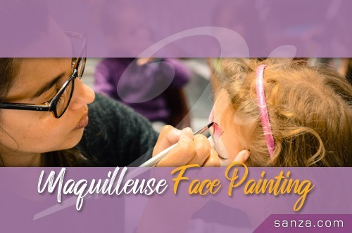 Maquilleuse Face-Painting | RueduSpectacle.com