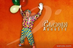 Clown Auguste | RueduSpectacle.com