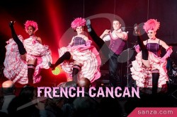 Danseuses de French Cancan | RueduSpectacle.com